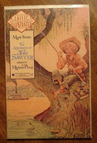 Classics Illustrated: The Adventures of Tom Sawyer by Mark Twain comic book - First Comics