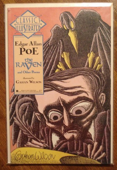 Classics Illustrated: The Raven by Edgar Allan Poe comic book - First Comics