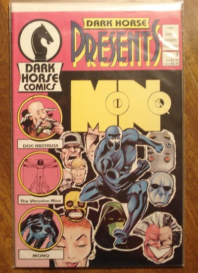 Dark Horse Presents #7 comic book - Dark Horse Comics