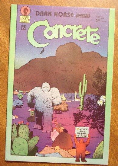 Dark Horse Presents #2 comic book - Dark Horse Comics, Concrete