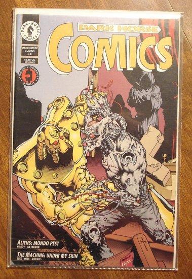 Dark Horse Comics #24 comic book - Aliens