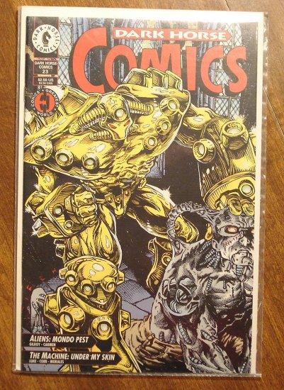 Dark Horse Comics #23 comic book - Aliens