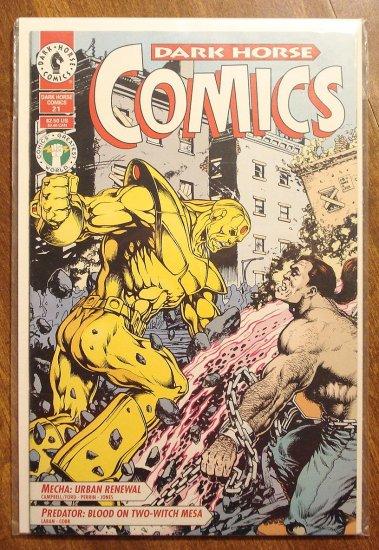 Dark Horse Comics #21 comic book - Predator