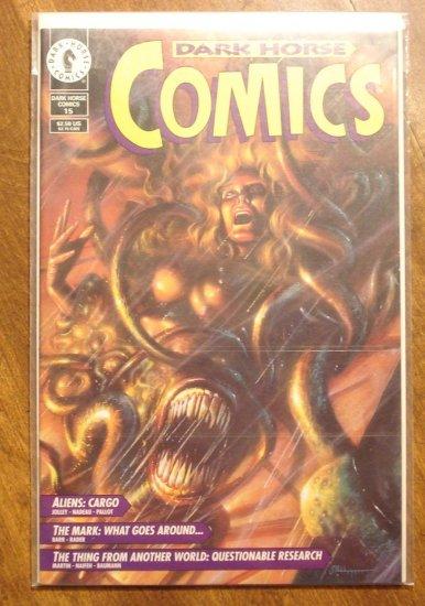 Dark Horse Comics #15 comic book - Aliens