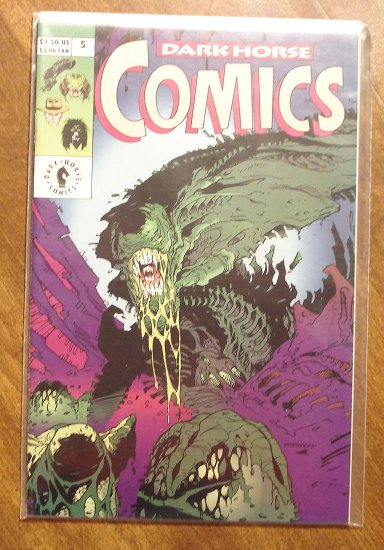 Dark Horse Comics #5 comic book - Aliens