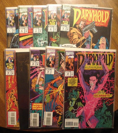 Darkhold #'s 5, 6, 7, 8, 9, 10, 11, 12, 13, 14 comic book - Marvel comics