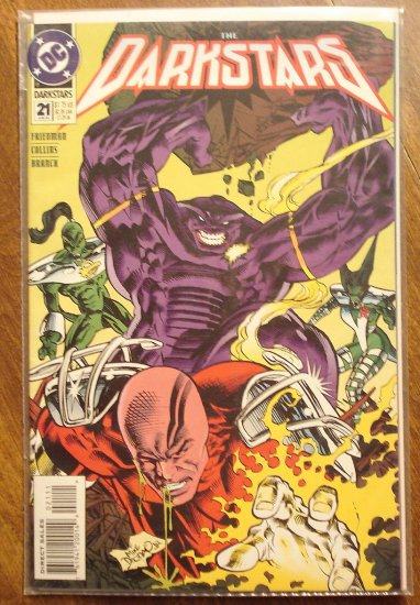 Darkstars #21 comic book - DC comics