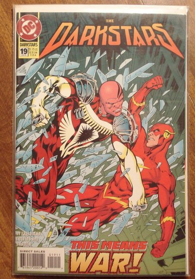 Darkstars #19 comic book - DC comics