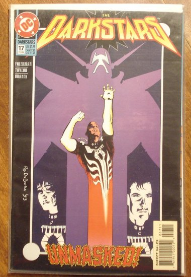 Darkstars #17 comic book - DC comics