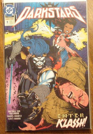 Darkstars #9 comic book - DC comics
