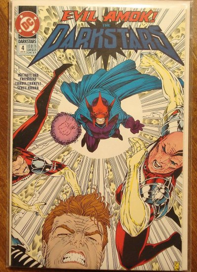 Darkstars #4 comic book - DC comics