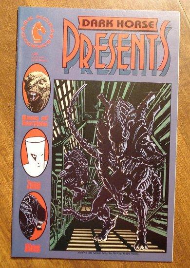 Dark Horse Presents #34 comic book - Dark Horse Comics - Aliens