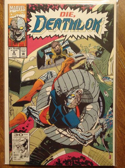 Deathlok #8 comic book - Marvel comics