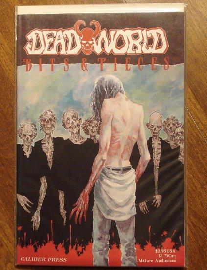 Deadworld: Bits & Pieces comic book - Caliber Press comics