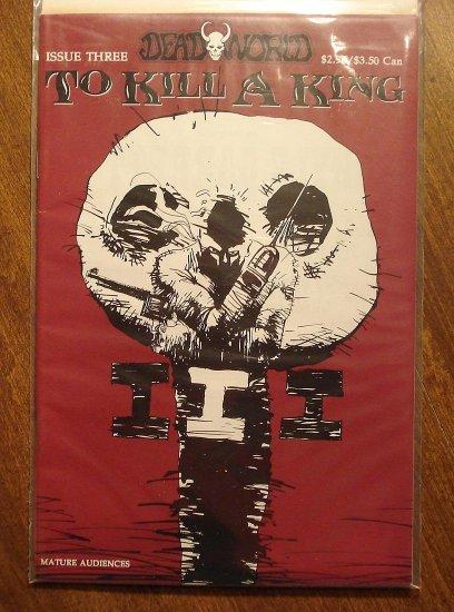 Deadworld: To Kill a King #3 comic book - Caliber Press comics