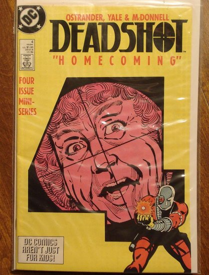 Deadshot #4 (mini-series) comic book - DC Comics