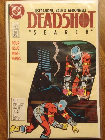 Deadshot #2 (mini-series) comic book - DC Comics