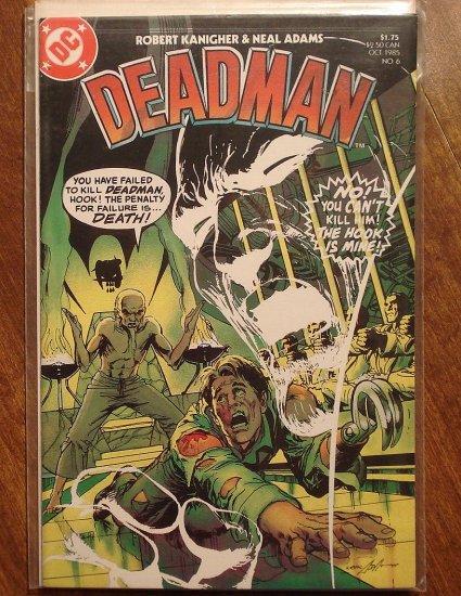 Deadman #6 (1985 Deluxe Reprint) comic book - DC Comics - Neal Adams artwork