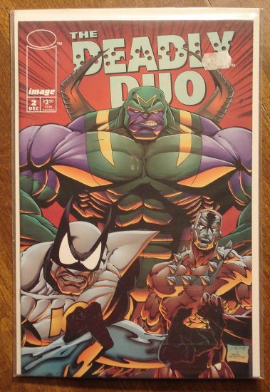 Deadly Duo #2 comic book - Image comics