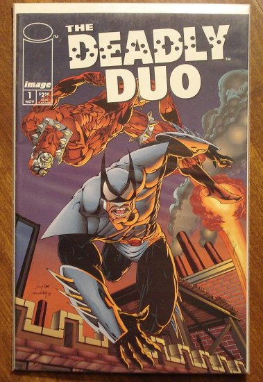 Deadly Duo #1 comic book - Image comics