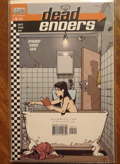 Dead Enders #5 comic book - DC (Vertigo) Comics - deadenders