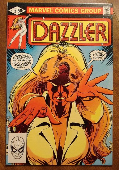 Dazzler #8 comic book - Marvel comics