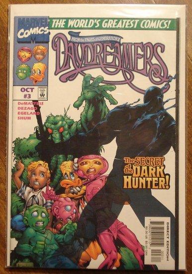 Daydreamers #3 comic book - Marvel comics - Generation X