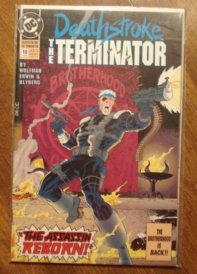 Deathstroke the Terminator #18 comic book - DC Comics