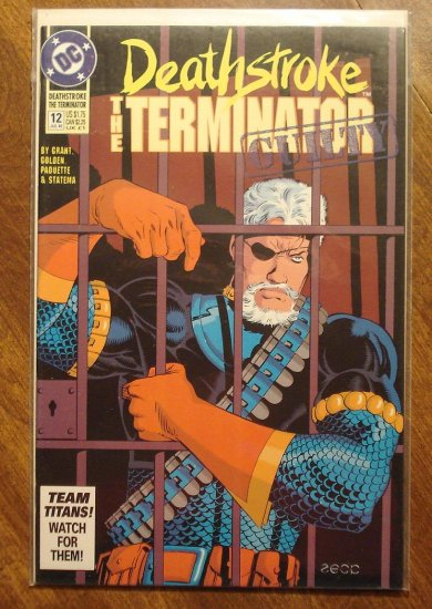 Deathstroke the Terminator #12 comic book - DC Comics