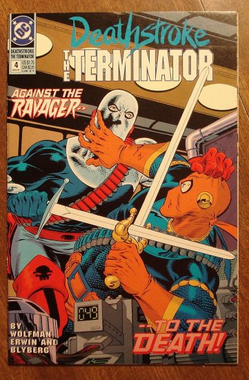 Deathstroke the Terminator #4 comic book - DC Comics