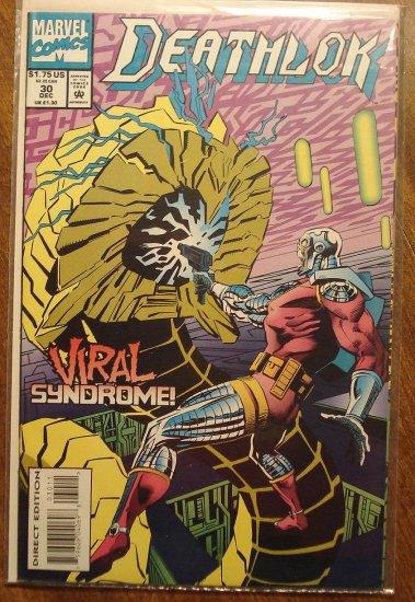 Deathlok #30 comic book - Marvel comics
