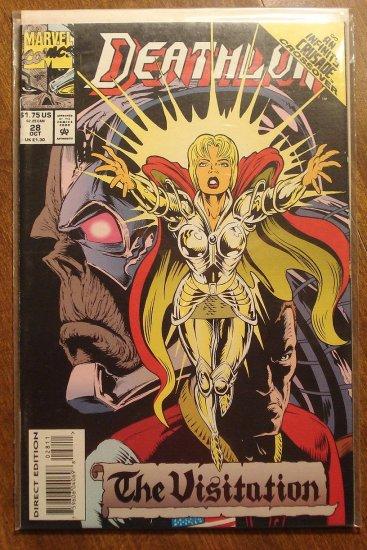 Deathlok #28 comic book - Marvel comics