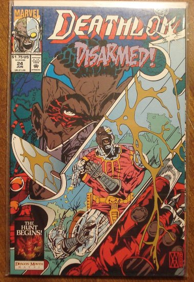 Deathlok #24 comic book - Marvel comics