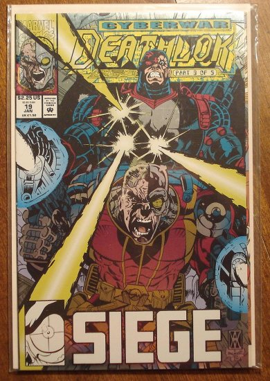 Deathlok #19 comic book - Marvel comics