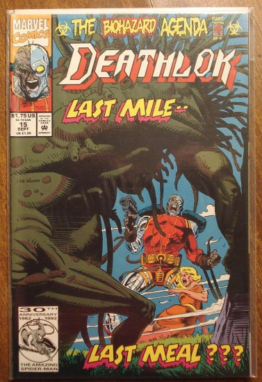 Deathlok #15 comic book - Marvel comics