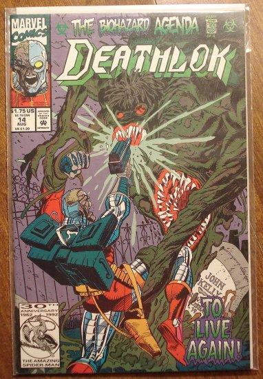 Deathlok #14 comic book - Marvel comics