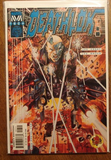 Deathlok #7 (1999) comic book - Marvel 'Tech' comics