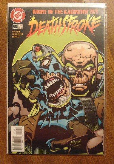 Deathstroke the Terminator #56 comic book - DC Comics