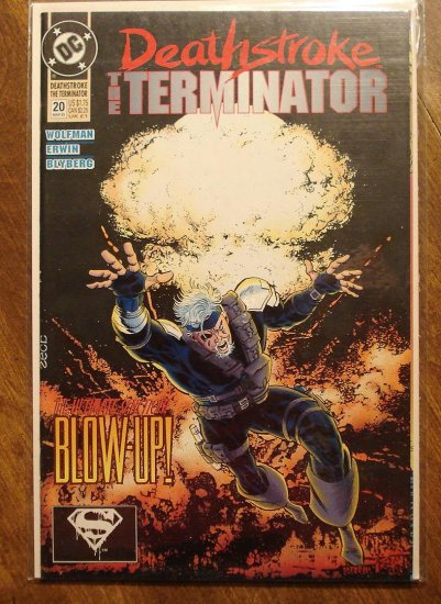 Deathstroke the Terminator #20 comic book - DC Comics