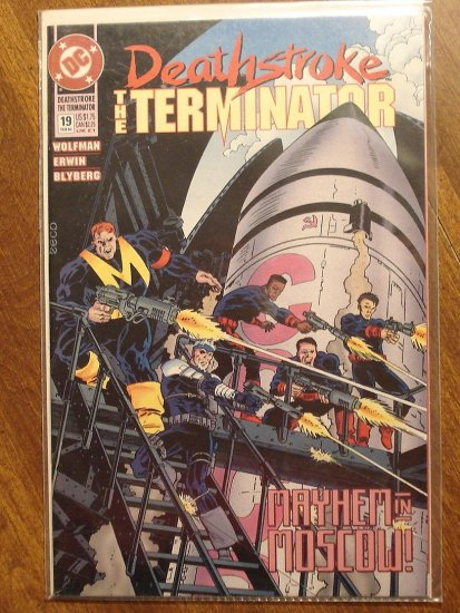 Deathstroke the Terminator #19 comic book - DC Comics