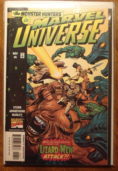 Marvel Universe #6 comic book - Marvel comics