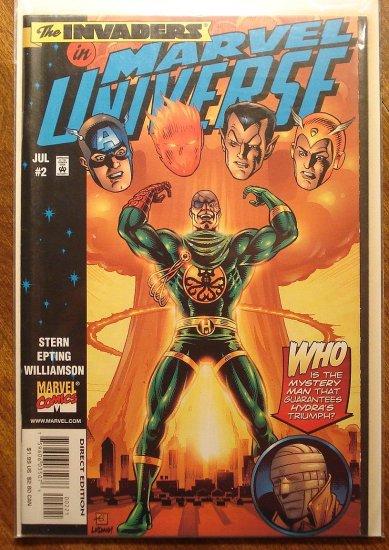 Marvel Universe #2 comic book - Marvel comics