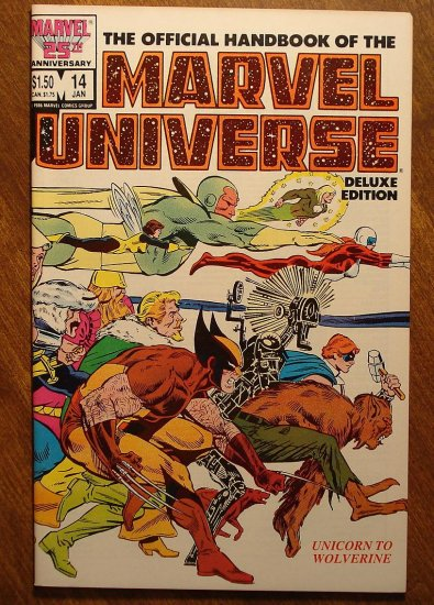 Official Handbook to the Marvel Universe (Deluxe Edition) #14