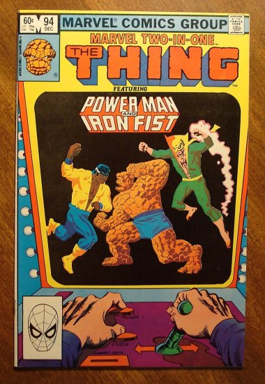 Marvel Two-In-One #94 The Thing & Power Man & Iron Fist comic book - Marvel comics