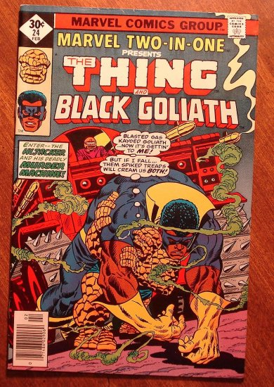 Marvel Two-In-One #24 The Thing & Black Goliath comic book - Marvel comics