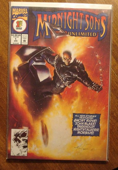 Midnight Sons Unlimited #1 comic book - Marvel comics