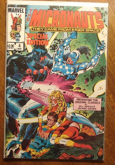 Micronauts Special Edition #4 comic book - Marvel comics