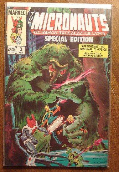 Micronauts Special Edition #3 comic book - Marvel comics