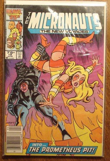 Micronauts: The New Voyages #19 comic book - Marvel comics
