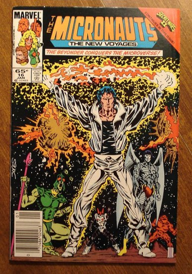 Micronauts: The New Voyages #16 comic book - Marvel comics